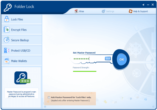 folder lock Crack Keygen