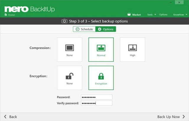 Nero BackItUp License Key