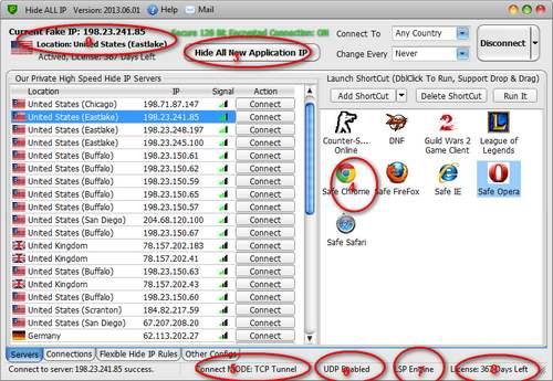 Hide All IP License Key