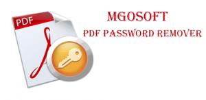 Mgosoft PDF Password Remover Crack