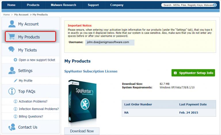 SpyHunter 5 License Key