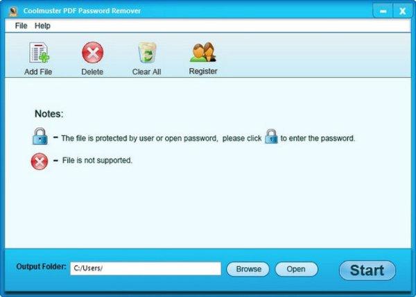 Coolmuster PDF Password Remover License Key