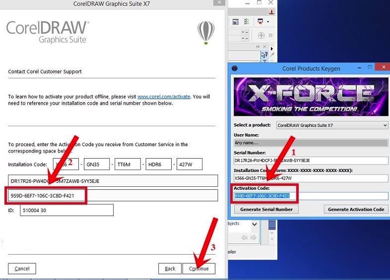 Corel DRAW Serial Key
